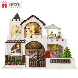 Casa de boneca de madeira do brinquedo de Pretesnd para crianças