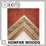 Marco de madera decorativo de gama alta para la decoración del interior del hotel