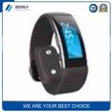 新しい心拍数のステップスリープモニタのBluetoothのスマートな腕時計の電話腕時計サポートOEM