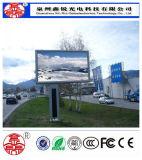 Brillo de alquiler al aire libre cómodo de la pantalla de visualización de LED P10 de Eco alto a todo color