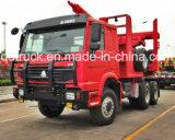HOWOの記録のローダーのトラック、材木のローダーのトラック、ログのローダーのトラック