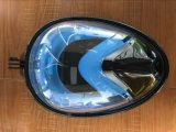 深い水泳及びスキューバダイビングマスク