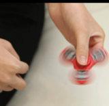 Juguetes del hilandero del dedo de la mano, tri hilandero de la persona agitada