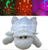 Projection animale Baby Bolster Star Sky Night Light