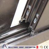 Entrate principali di alluminio della porta a battenti