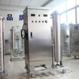água do ozonizador do descoramento do gerador do ozônio 300g para a descoloração de Facbric da sarja de Nimes