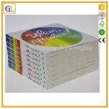 Niños baratos Boardbook en fábrica de la impresión del OEM