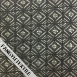 Tela do laço do algodão do projeto do polígono regular