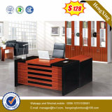 офисная мебель l меламина 1.6m стол офиса менеджера формы (HX-5118)