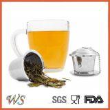 Вспомогательное оборудование стрейнера чая фильтра чая нержавеющей стали Infuser чая Ws-If003s установленное установленное с ложкой чая