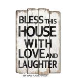 Het rustieke Decoratieve Houten Teken van de Ambacht met het Zoete Huis '' van het huis van Woorden ''