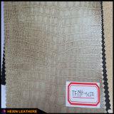 Material de couro PU sintético para fabricação de sofá Hw-962