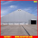 Tenda della curva di figura curva per il baldacchino esterno del magazzino delle tende di evento nel bianco