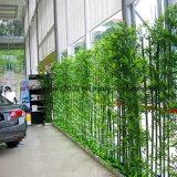 공장 가격 인공적인 대나무 벽 담