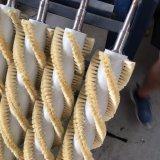 Balai enroulant pour cirer le balai de cirage et de polissage de fruit de machine de nettoyage de balai de rouleau de rouleau