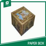 Caja de embalaje de alta calidad de papel con tapa