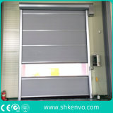 Ткань PVC Высокоскоростная Свертывает Вверх Дверь для Чистой Комнаты