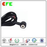 Mâle 1pin fait sur commande et cables connecteur magnétiques femelles