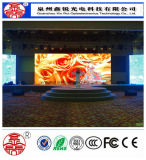 Buena calidad que funde la visualización de pantalla a troquel a todo color de interior de P4 LED para hacer publicidad