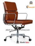 Eames moderner Büro-Leder-Sitzungs-Schwenker-Computer-Stuhl (RFT-B01)