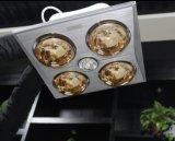Hot Selling Ceiling Montado 4 lâmpadas aquecedor de infravermelhos de banheiro