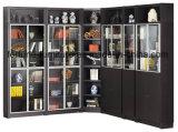 現代木の黒いカラー本箱(I&D-7030D)
