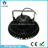 Luz redonda de la bahía del UFO LED de la dimensión de una variable 100W 150W 200W alta