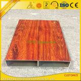 家具の装飾のための木の穀物のアルミニウム木製の空の管