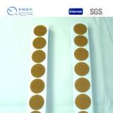 Doppi puntini a forma di parteggiati liberi personalizzati del materiale di nylon del nastro