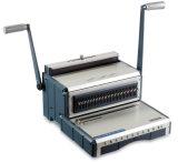 Machine à relier manuelle Wb-2410 de livre de fil de la taille A4 de modèle populaire