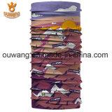 Bandana sans joint extensible de tissu de logo fait sur commande populaire merveilleux de vente en gros