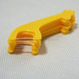 Différentes sélections simples de soie dentaire