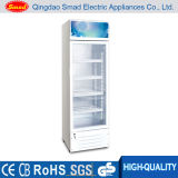 Étalage en verre de réfrigérateur d'étalage de boissons d'énergie de porte de supermarché