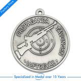 Medalha feita sob encomenda do tiro da liga do zinco da concessão antiga por atacado