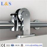Acero inoxidable para puerta corrediza de hardware (LS-SDS-513)