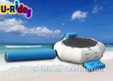 Aufblasbare Wasser-Trampoline mit Plättchen und Protokoll