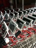 Visualización del vídeo del panel del LCD que hace publicidad del jugador, señalización de Digitaces 10.1 pulgadas