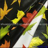 Цветастая кожа PU пленки для материала PU одежд мягкого