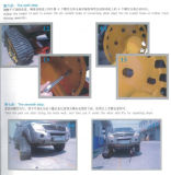 Suzuki, Cfmoto 450/550/800 ATV spürt Gummispur-System Hf-255 auf