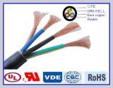 Cable de transmisión aislado caucho de H05rn-F