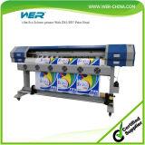 Более дешевое цена печатной машины гибкого трубопровода, 6 холстины футов прокладчика Inkjet