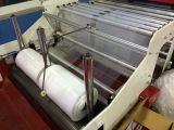 Automatische Fliegen-Messer-Ausschnitt-und Unterseiten-Dichtungs-Plastiktasche, die Maschine herstellt