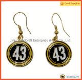 번호 43 놓이는 둥근 금 귀걸이 (JINJU16-095)