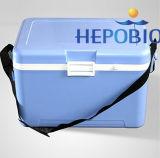 10L stapelbarer Grad-Schulter-Riemen-Vaccine Kühlvorrichtung-Kasten des Edelstahl-2-8