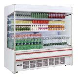 スーパーマーケットの飲料の表示のためのフリーザーそして冷却装置