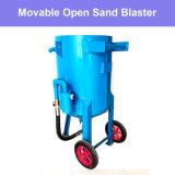 サンドブラスト装置のショットブラストの砂の発破工の噴霧