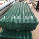 Telhadura do celeiro do material de construção/folha de aço revestida telhadura da cor