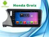 voor GPS van de Speler van de Auto DVD van het Systeem van Honda Greiz Androïde Navigatie voor het Scherm van de Aanraking 10.1inch met Bluetooth/WiFi/TV