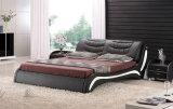 Luxuxmöbel-Doppelt-Leder-Betten für Schlafzimmer-Möbel (HCC316)