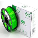 3D Filamento de impressora ABS / PLA / HIPS / PVA / Flexible Rubber Plastic Rods Filament
